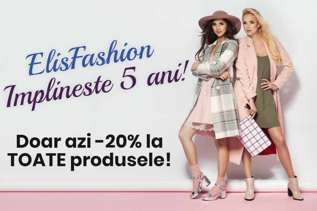 ElisFashion implineste 5 ani