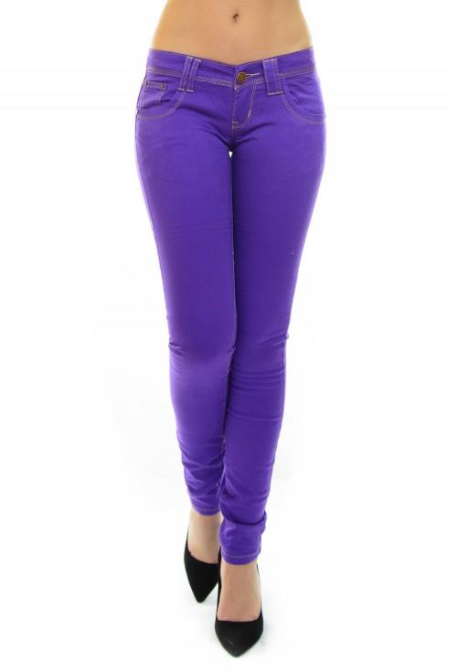 Blugi Soft Slim Purple