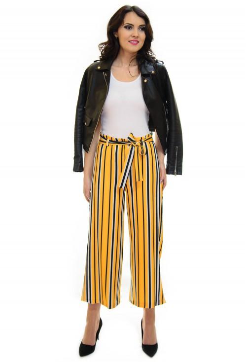 Pantaloni Culotte Modern Legacy Yellow