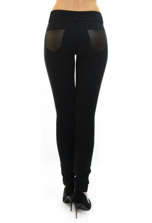 Pantaloni Try One More Black