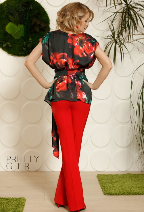 Pantaloni Pretty Girl Special Treat Red
