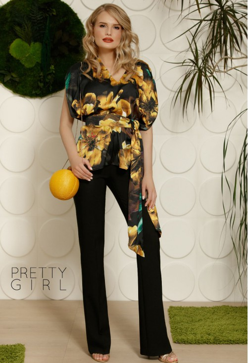 Pantaloni Pretty Girl Special Treat Black