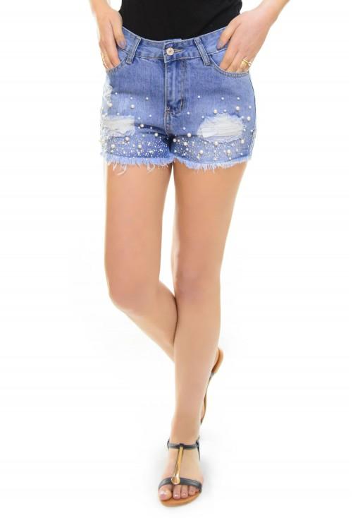 Pantaloni Scurti Behind Pearls