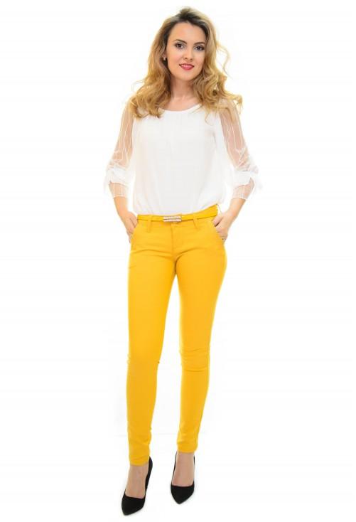 Pantaloni Move Trend Yellow