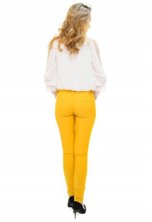 Pantaloni Move Trend Yellow