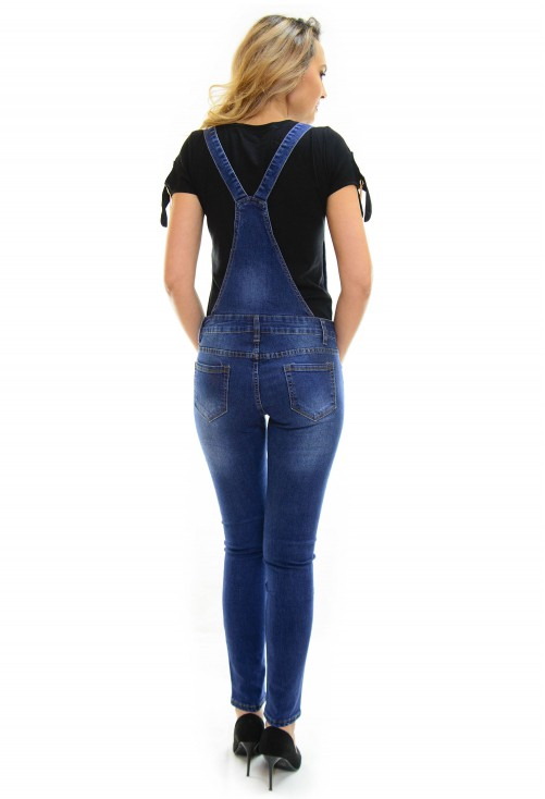 Salopeta Slim Intuition Jeans