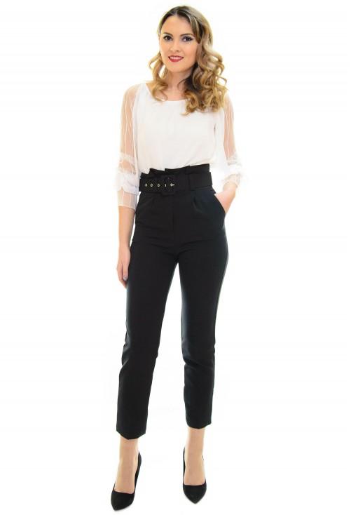 Pantaloni Elegant Way Black