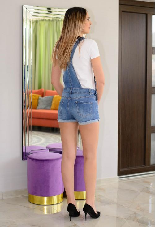 Salopeta Short Style Blue