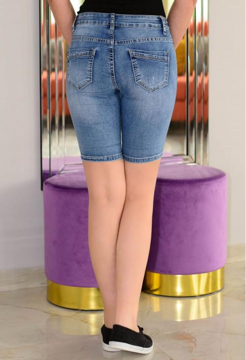Pantaloni Scurti Clear Crystal Blue