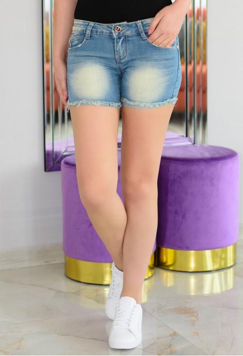 Pantaloni Scurti Vivian Blue