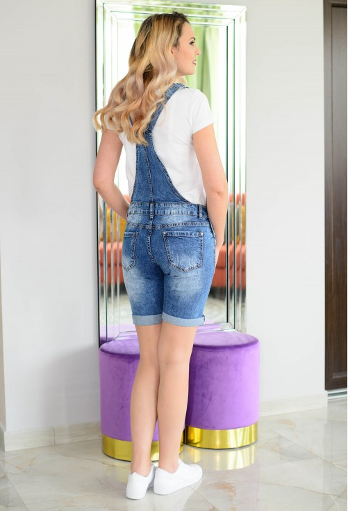 Salopeta Star Jeans Blue