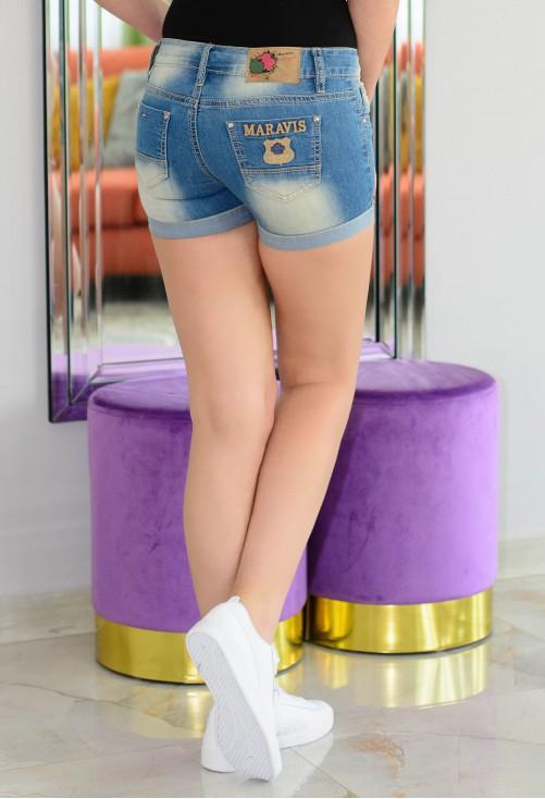 Pantaloni Scurti Maravis Blue