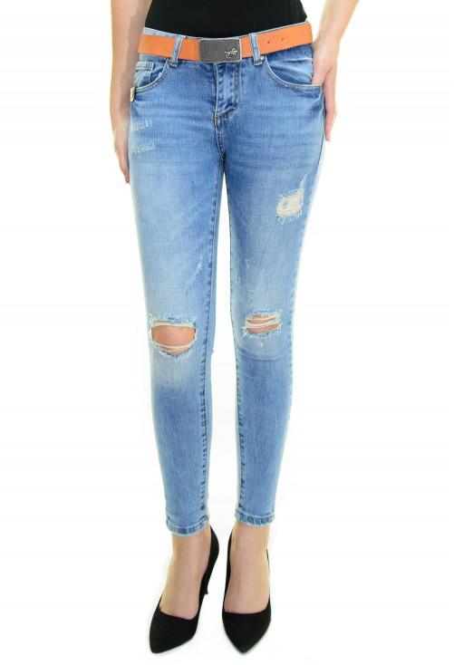Blugi Vigour Jeans Blue
