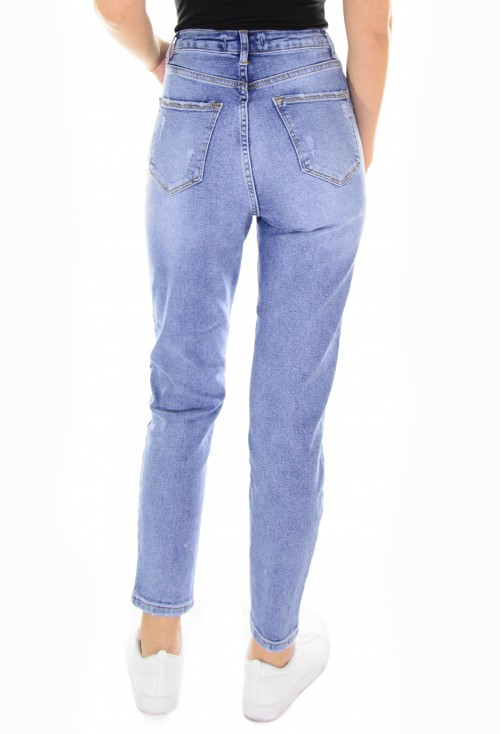 Blugi Denim Feel Blue