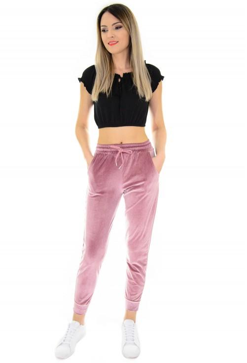 Pantaloni Funky Powder Pink