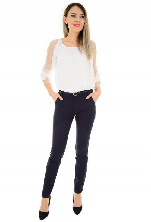 Pantaloni Elegant Feel DarkBlue