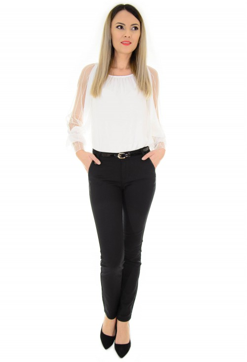 Pantaloni Elegant Feel Black