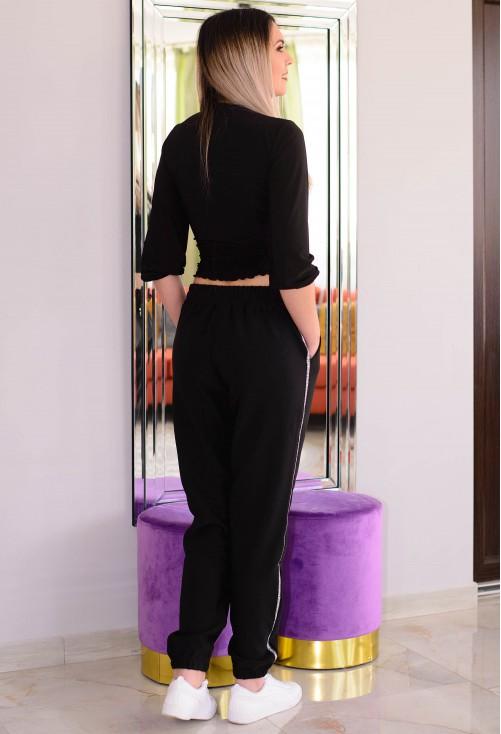 Pantaloni Nice Model Black