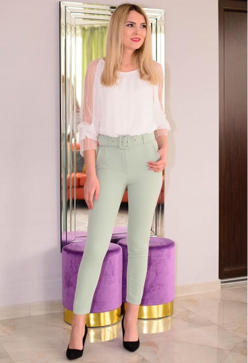 Pantaloni Special Vibes Mint