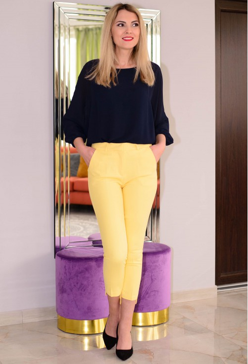 Pantaloni Sunrise Mood Yellow