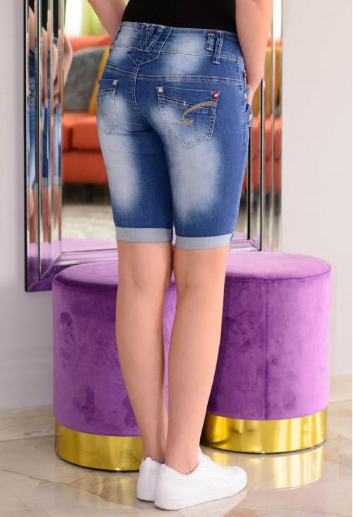Pantaloni Scurti Fashion State Blue