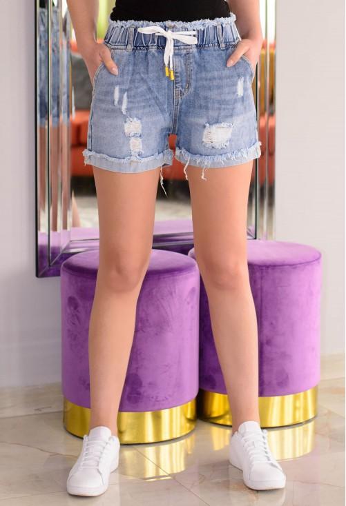 Pantaloni Scurti Sport Wear Blue
