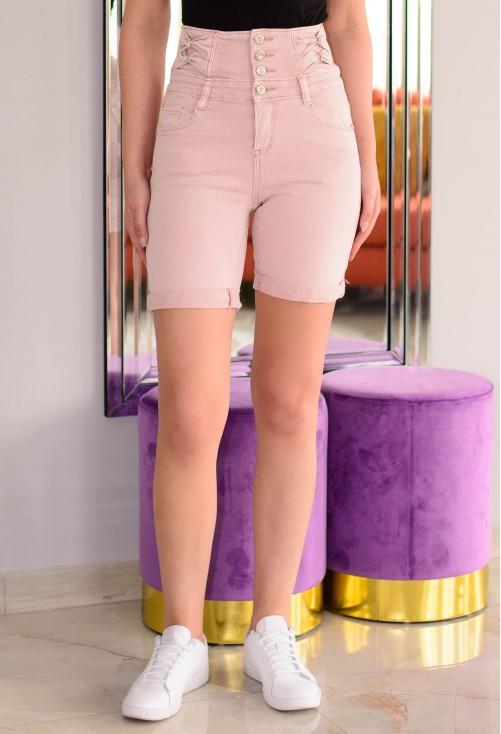 Pantaloni Scurti Lovely Bow Pink