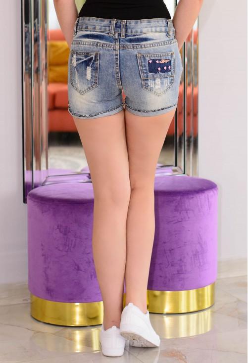 Pantaloni Scurti Summer Crush Blue