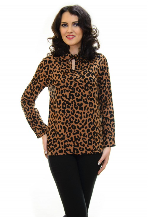 Bluza On Swipe Animal Print