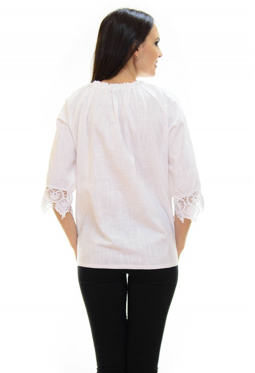 Bluza Fast Enough White