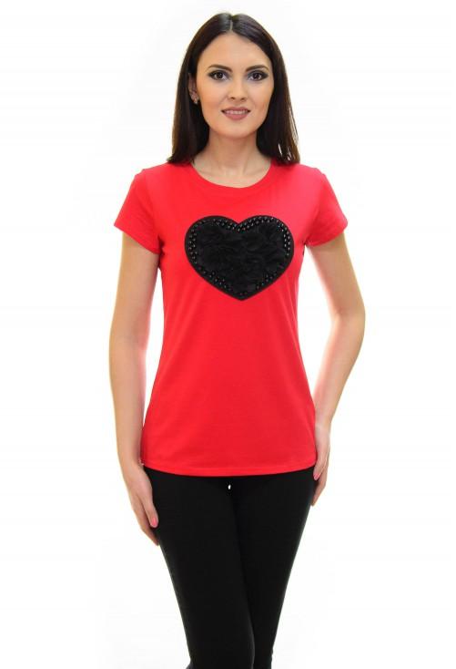 Tricou Love Inside Red