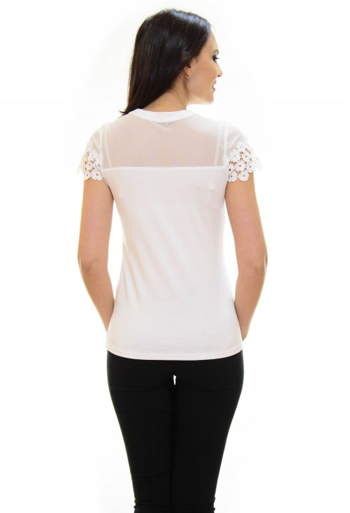 Tricou Loving More White