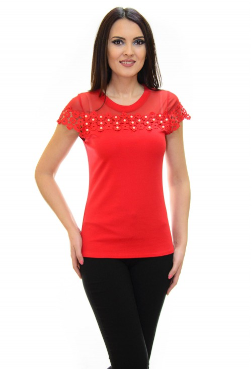 Tricou Loving More Red