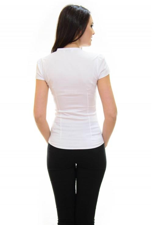 Camasa Fluff Buttons White