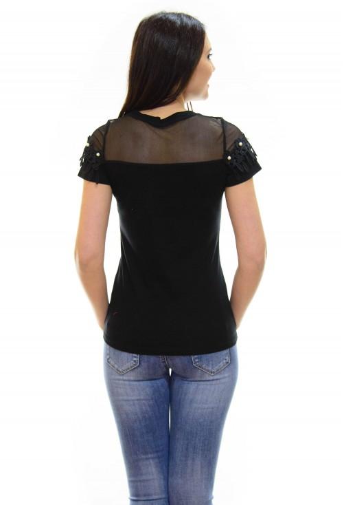 Tricou Mousse Black