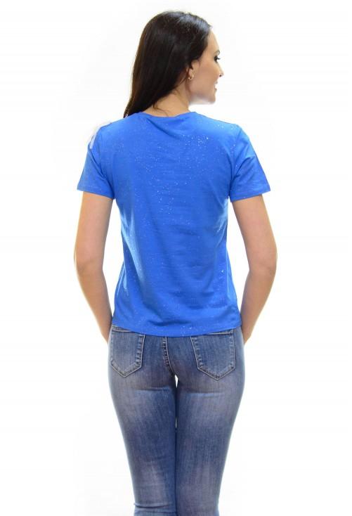 Tricou Flash Tulle Blue