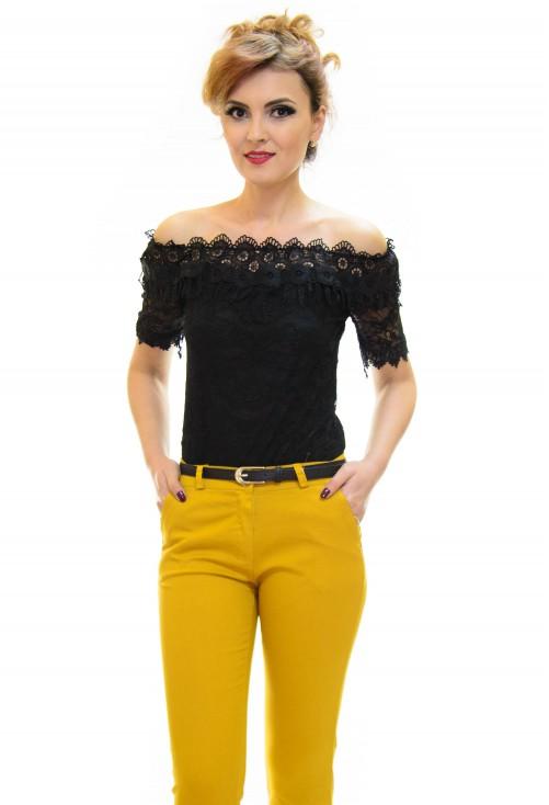 Bluza Treasure Lace Black