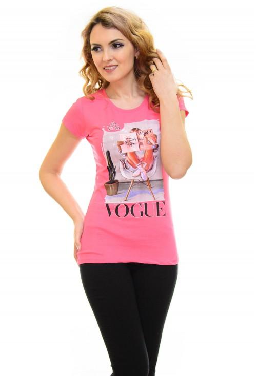 Tricou Mind On Vogue Pink