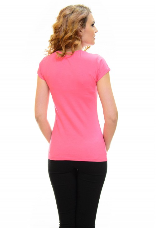 Tricou Mind On Vogue Pink