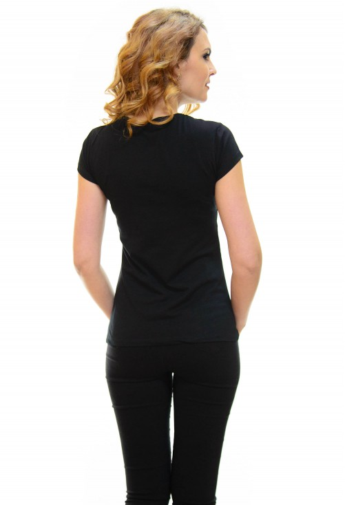 Tricou High Print Black