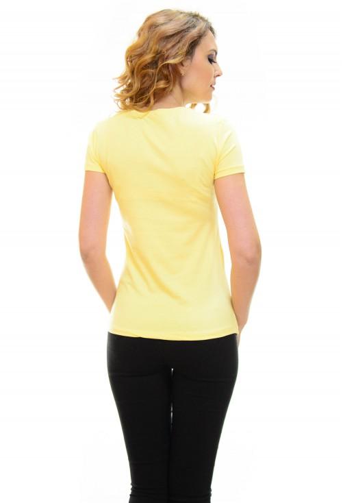 Tricou Friendship Yellow