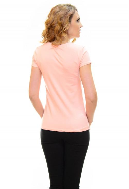 Tricou Fashion Book Pink