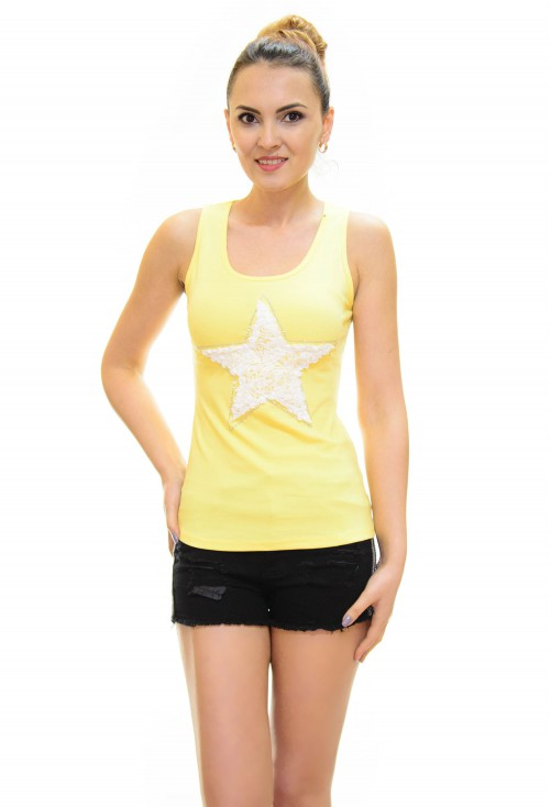 Top Little Star Yellow