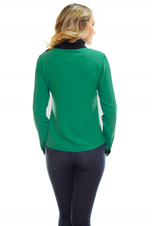 Camasa Top Swift Green