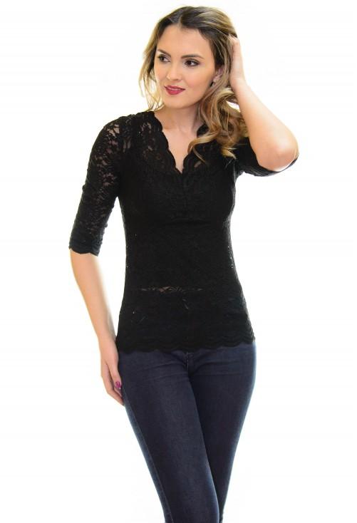 Bluza Lace Addict Black