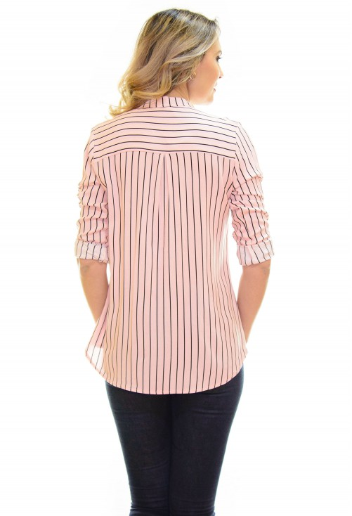 Camasa Space Line Pink