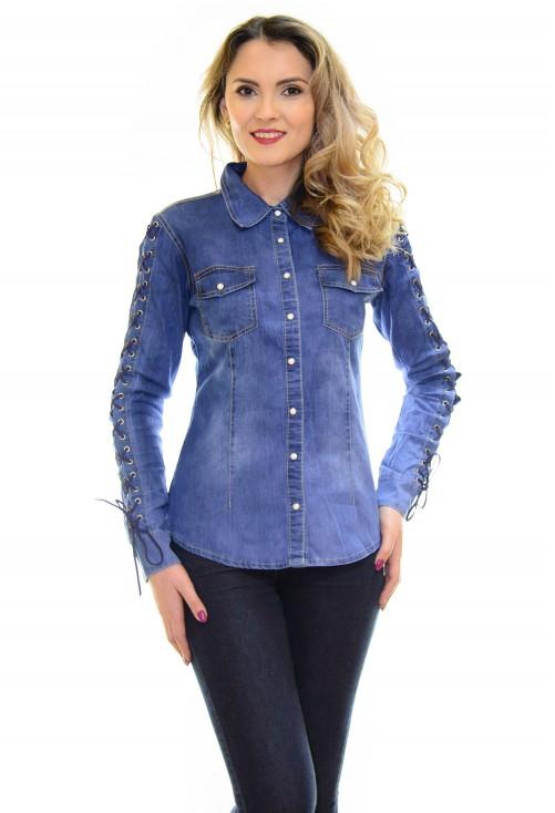 Camasa Jeans Affection Blue