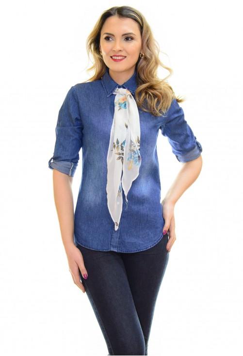 Camasa Elegant Scarf Blue