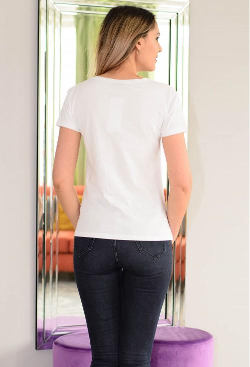 Tricou Style Maker White