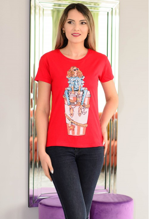 Tricou Style Maker Red